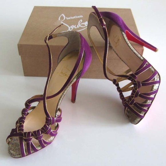 big sale 46062 35f02 CHRISTIAN LOUBOUTIN 8 Mignons strappy sandals 39.5